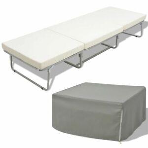 vidaXL-Vouwbed-Kruk-met-Matras-200x70-cm-Staal-Bed-Krukken-Zitting-Bedden