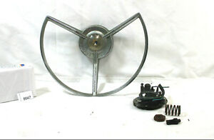 1959-1960-59-60-FORD-GALAXIE-FAIRLANE-500-FACTORY-OEM-STEERING-WHEEL-HORN-RING