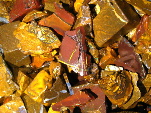200 cts Australien Roh Opal Boulder Matrix  Rough Abschnitte low quality