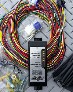 s l300 ultima complete electronic wiring sys harness harley tri xs650 harley chopper wiring harness at n-0.co