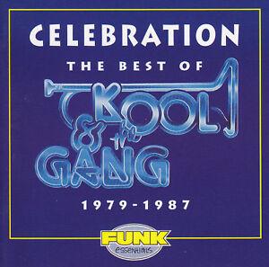 KOOL & THE GANG - CD - CELEBRATION -THE BEST OF 1979-87