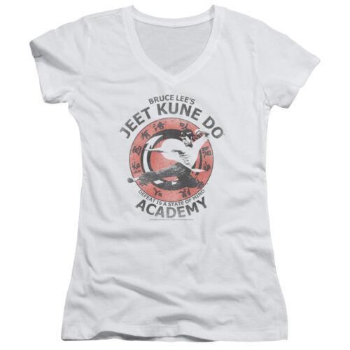 Bruce Lee Martial Arts Jeet Kune Junior V-Neck T-Shirt Tee