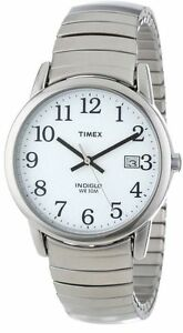 Timex-T2H451-Men-039-s-Easy-Reader-Expansion-Band-Watch-Indiglo-Date