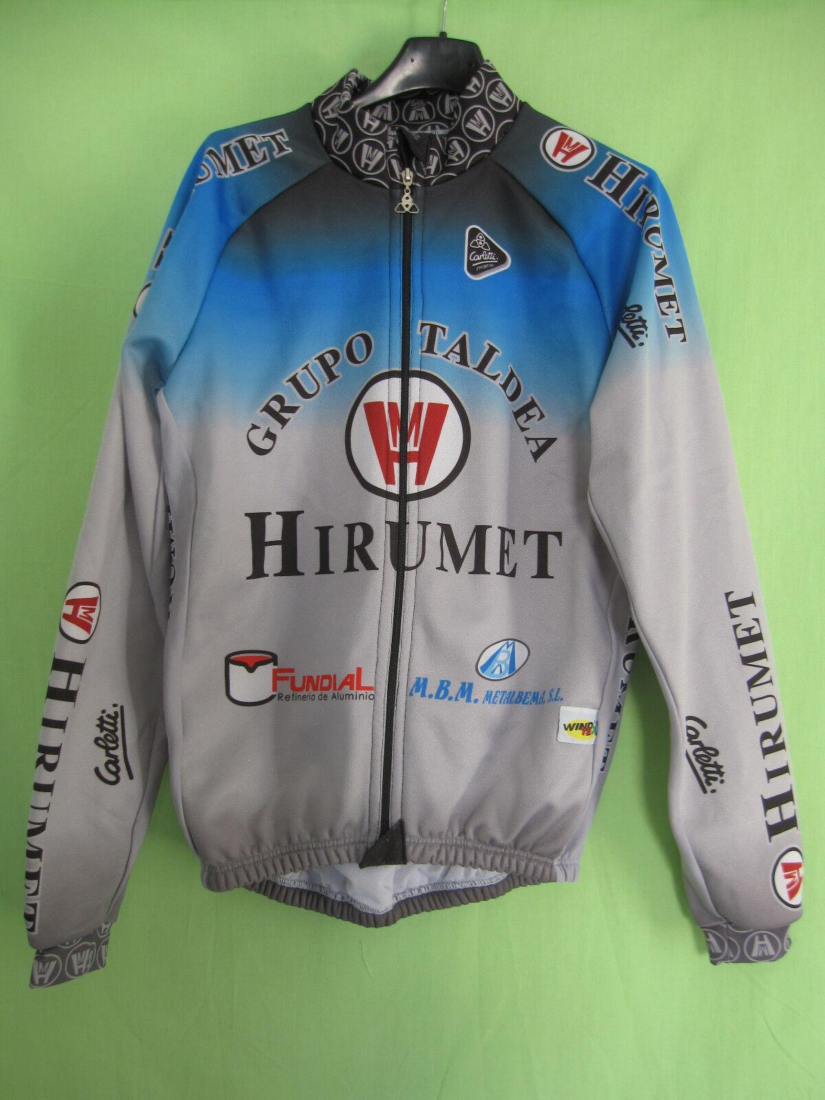 Veste cycliste Grupo Hirumet Taldea carletti Vintage Team pro Spain - L