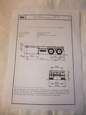Sammeln & Seltenes Ddr Werbung Reklame Datenblatt Plattformauflieger Hls 200.78/t Veb Werdau 1981