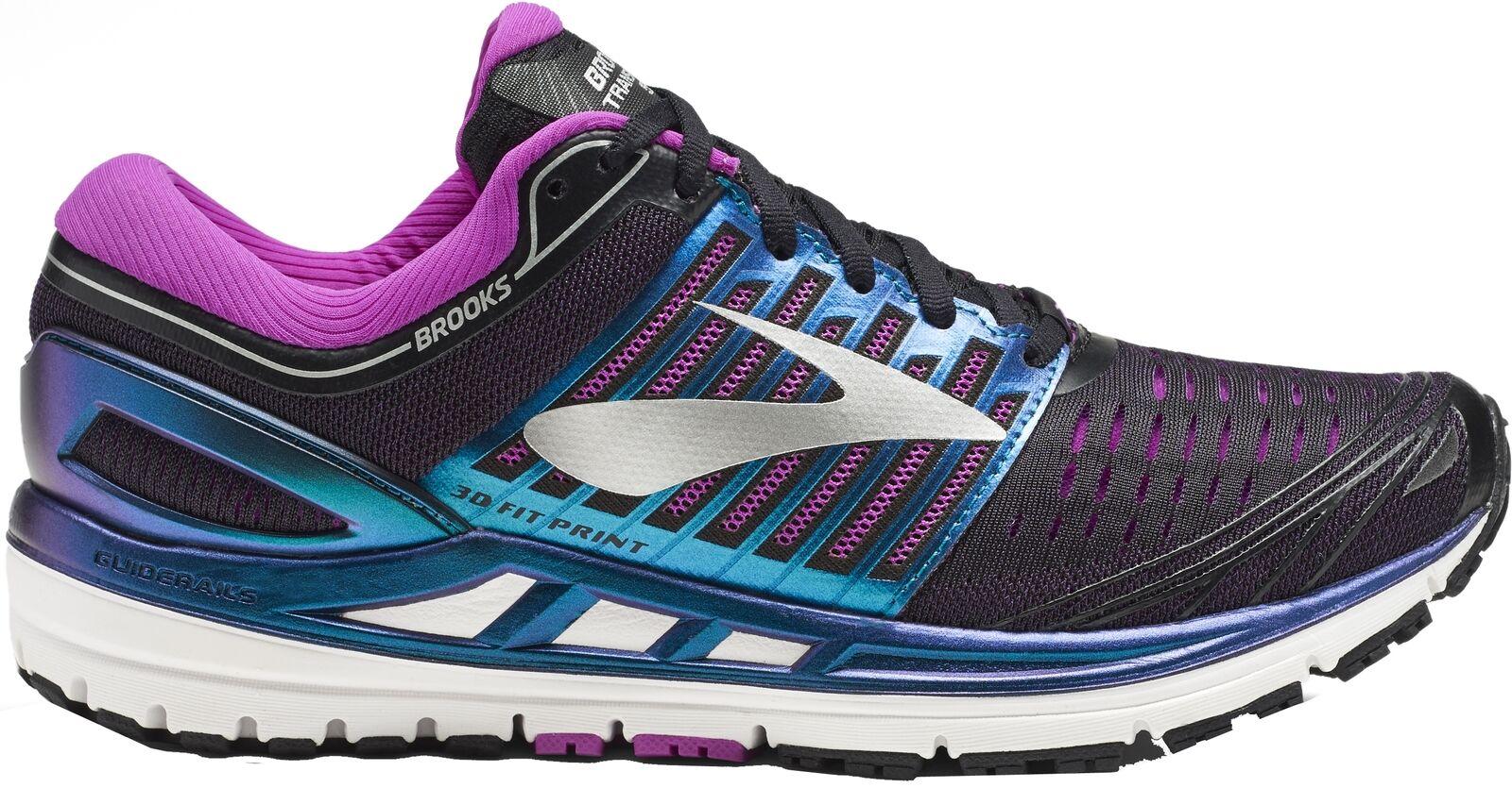 Brooks transcend 5 damas de zapatillas para correr confort zapatos zapatillas
