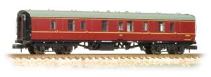 Graham-Farish-374-036B-BR-Mk1-BG-Full-Brake-Coach-Maroon-N-Gauge