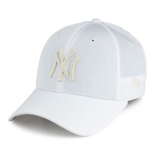NEW Era 9 Forty MLB New York Yankees Bianco Ottico Da Donna curvi picco Strapback Cappello