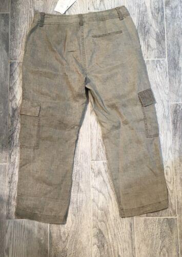 Nwt Pantalon Eileen Fisher Taille Petit 198 Naturel Cargo 4 nrUnxaf