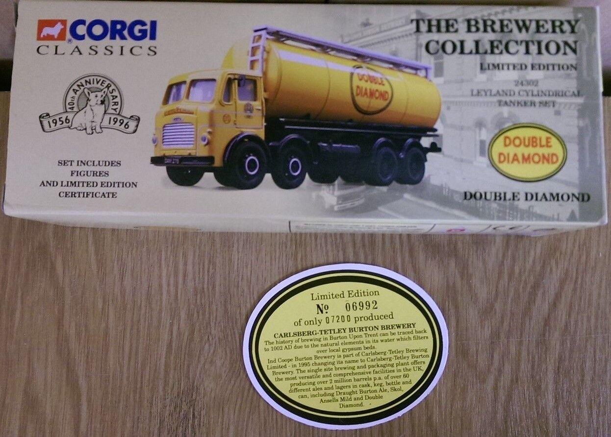 Corgi Classics 24302 Leyland Cylindrical Tanker Do. Diamond Ltd Ed 6992 of 7200