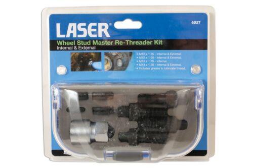 Laser 6527 Wheel Stud Master Re-Threader Kit