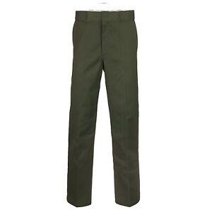 DICKIES-Original-874-Pantalon-de-Travail-Chino-HOMMES-olive-vert