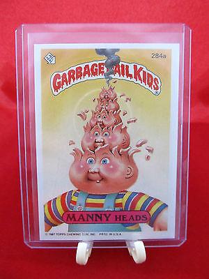 Garbage Pail Kids 1987 #284a Manny Heads