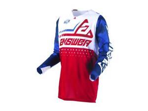 Maillot-Motocross-ANSWER-Elite-Discord-Bleu-Blanc-Rouge