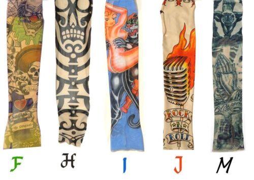 Single Print Tattoo Arm Sleeve Old School Many Styles! FREE SHIP