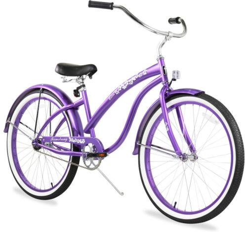 """26/"""" Beach Cruiser Bike Firmstrong Bella Classic LadyMint Green"""