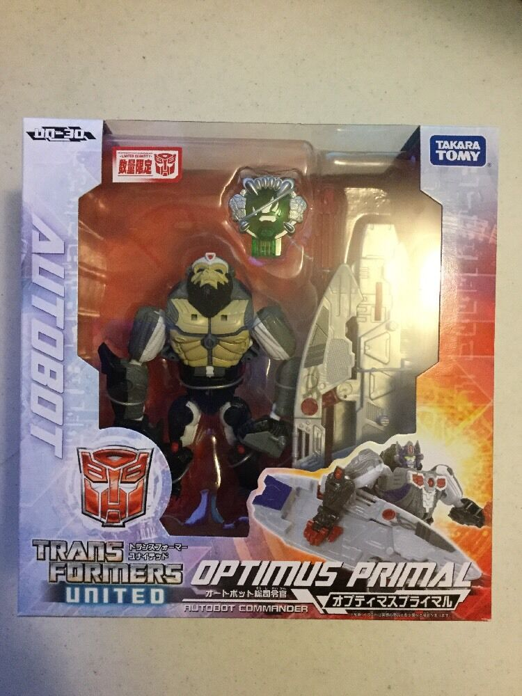 Takara Transformers UN-30 Optimus Primal Unidos