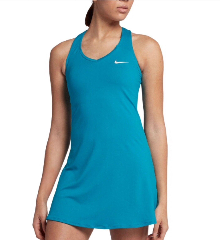 Women's NIKE COURT PURE TENNIS DRESS  872819-430 Small, Medium