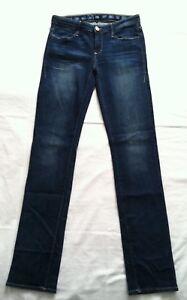NWTG-Earnest-Sewn-Sz-27X34-Women-039-s-Long-Straight-Leg-Jeans-Decca-544-ANJA
