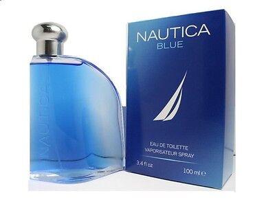MEN NAUTICA BLUE by Nautica COLOGNE 3.4 OZ 100 ML EDT COLOGNE SPRAY NIB SEALED