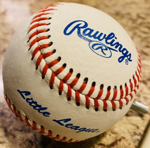 Details about  /Rawlings Little League Baseball Finial Curtain Rod Cap Great Condition Too Cute!