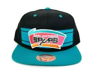 best sneakers d34e1 0b2e0 Image is loading Mitchell-amp-Ness-NBA-San-Antonio-Spurs-Teal-