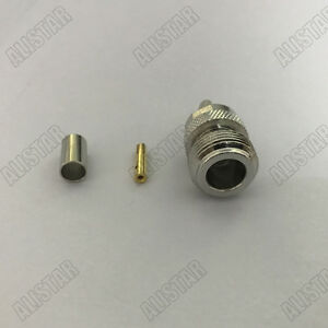 5x-N-Female-Jack-Crimp-For-RG58-LMR195-RG142-RG400-Cable-Straight-Type-Connector