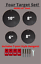 """AR500 3//8"""" Steel Target And T-Post Hanger Compete Kit Four Piece Set!"""