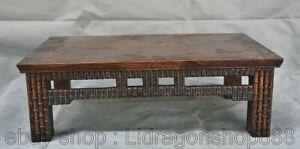 15-8-034-Chinois-Huanghuali-sculpture-sur-bois-palais-bambou-Table-bureau-tables