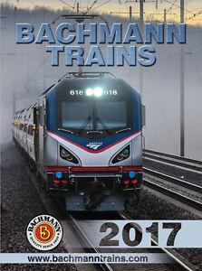 Bachmann & Williams 2017 N HO O G Scale Catalog NEW Free Shipping!