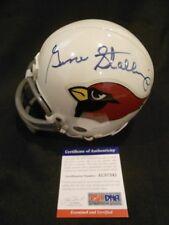 GENE STALLINGS, NFL St. Louis Cardinals Coach, single signed mini-helmet PSA COA