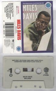Miles-Davis-MC-Musikkassette-Ballads-CJT-44151