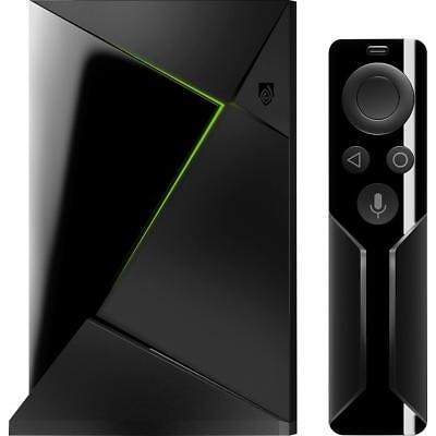 NVIDIA - SHIELD TV - 4K HDR Streaming Media Player with Google Assistant - Black