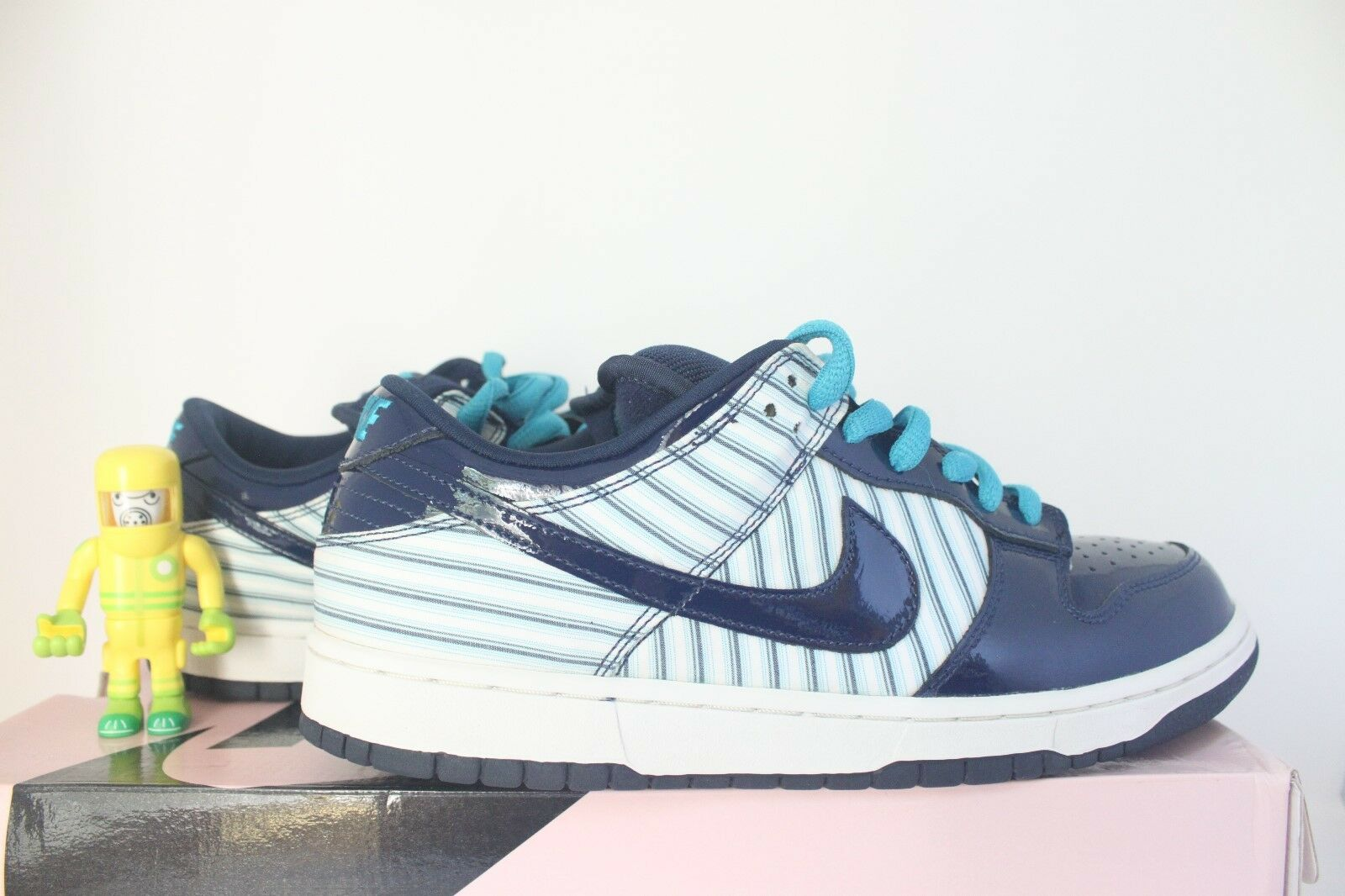 85b9b103db9 Nike SB bluee Avenger PL SZ DS patent banker pinstripe 312710-141 leather  10.5 nizrrw3419-Athletic Shoes
