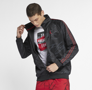 NIKE JORDAN JUMPMAN TRICOT GRAPHIC MEN'S JACKET (AR4460 ...