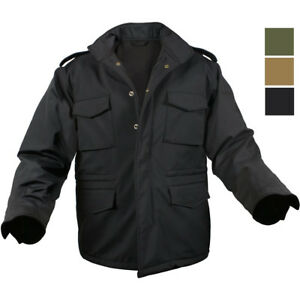 Image is loading Soft-Shell-Waterproof-Tactical-Jacket-Army-M65-Military- 5fe3cbbc348