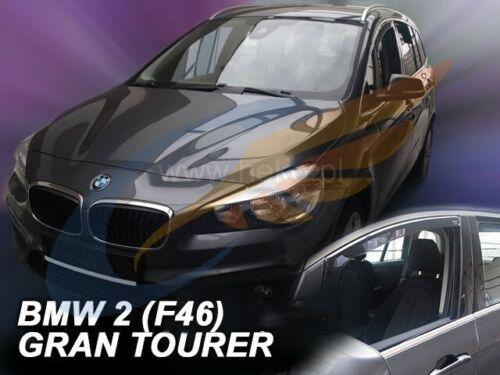 Windabweiser BMW 2er F46 GRAN TOURER 5-türer 2015-heute 2-tlg HEKO dunkel