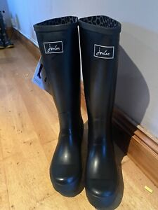 Joules-Black-Wellies-Size-8-2282