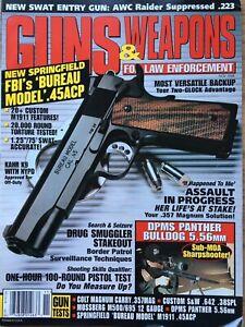 Guns-amp-Weapons-For-Law-Enforcement-Nov-1998-FBI-s-Bureau-Model-45-ACP