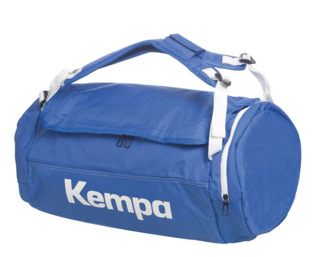 Kempa K Line Bag Caution Tasche Rucksack blau 40 Liter Sporttasche