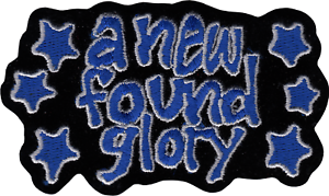 New Found Glory Blue Stars Logo Pop Punk Embroidered Sew Iron On #19145 Patch