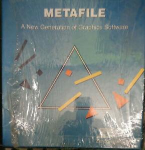 Metafile-by-Zenographics-1989-Graphics-file-connectivity-software-Unused