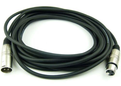 6 m Mikrofonkabel 3 pol XLR DMX Adam Hall Mikrofon Kabel Neutrik kompatibel