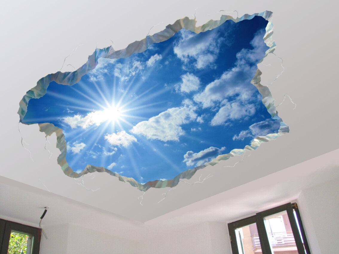 Decorazione per soffitto adesiva cm 160x118 cod. SF100