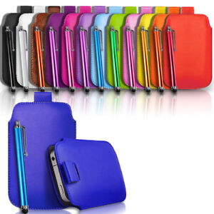 High-Quality-Flip-Leather-Pull-Tab-Case-Cover-Pouch-amp-FREE-Stylus-Pen