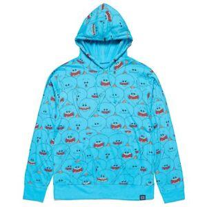 Rick and Morty Mr Meeseeks Hoodie Hooded Sweatshirt Mens Womans XL ... b2b69fa51