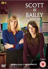 DVD:SCOTT AND BAILEY - SERIES 2 - NEW Region 2 UK