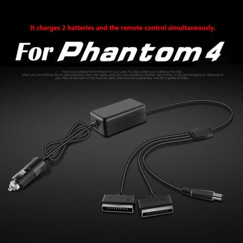 Chargeur de voiture adaptateur pour DJI Phantom 4 Drone Pro Professionnel Batterie Accessoires