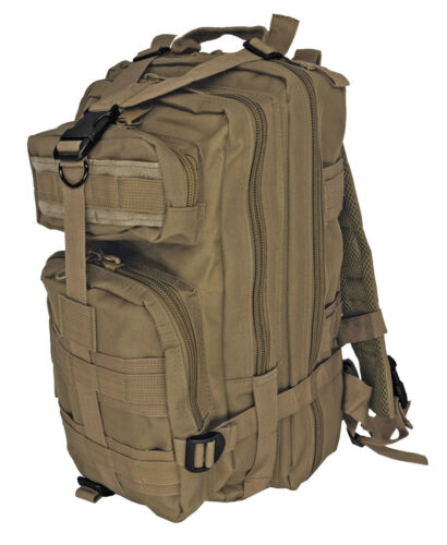 EDC Tactical Assault Backpack Coyote Tan