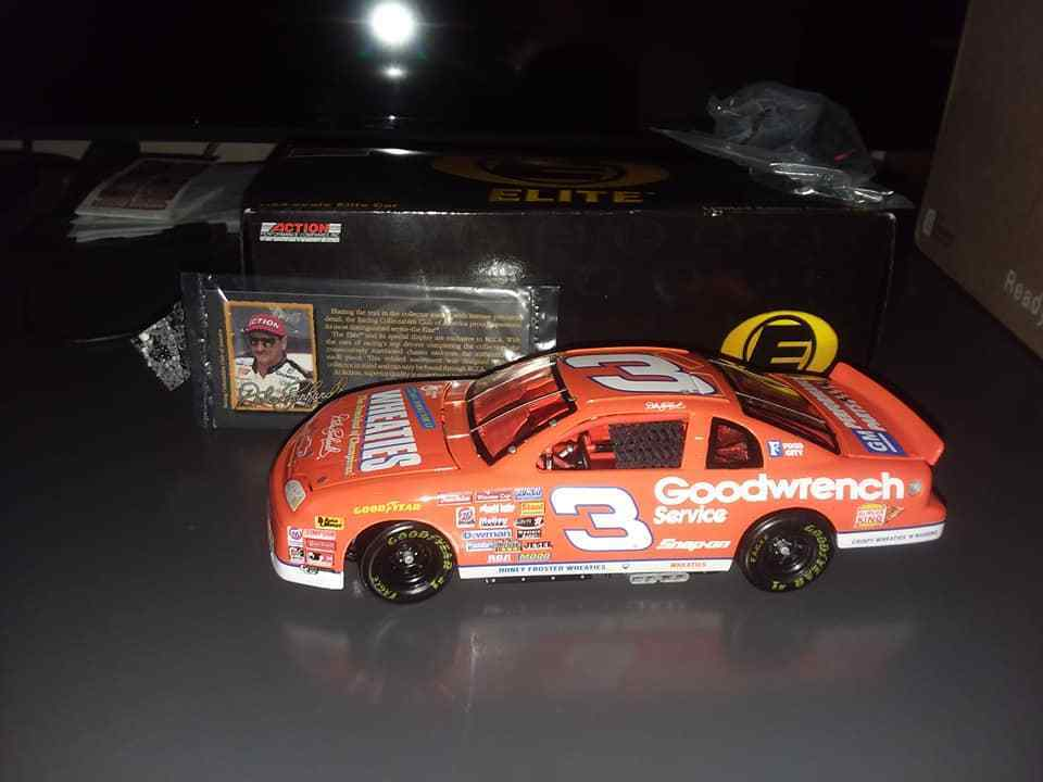 Dale Earnhardt Elite 1997 Wheaties   Goodwrench 2b\nd edition  1 24